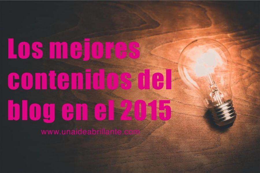 los mejores contenidos del blog en el 2015