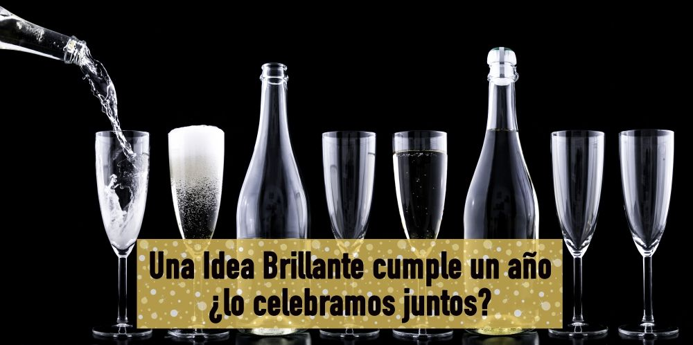una idea brillante cumple un año