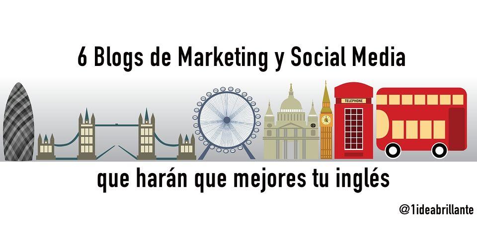 blogs marketing social media inglés