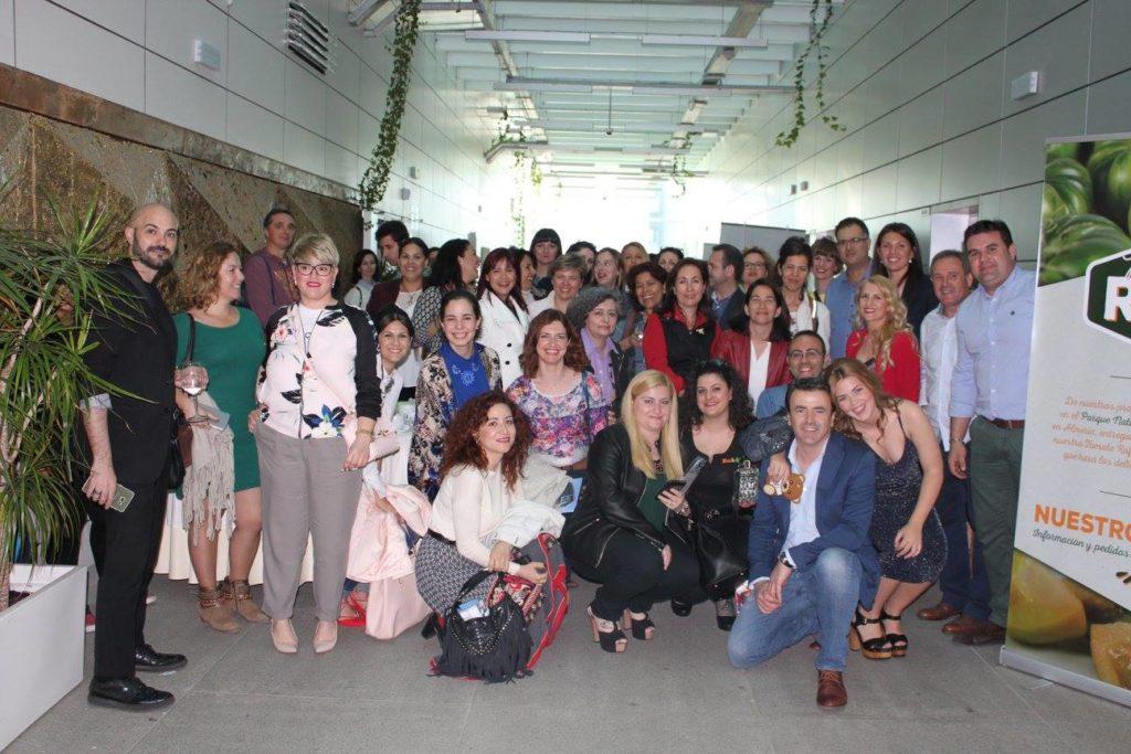 foto grupo encuentro bloggers y marcas pita almeria