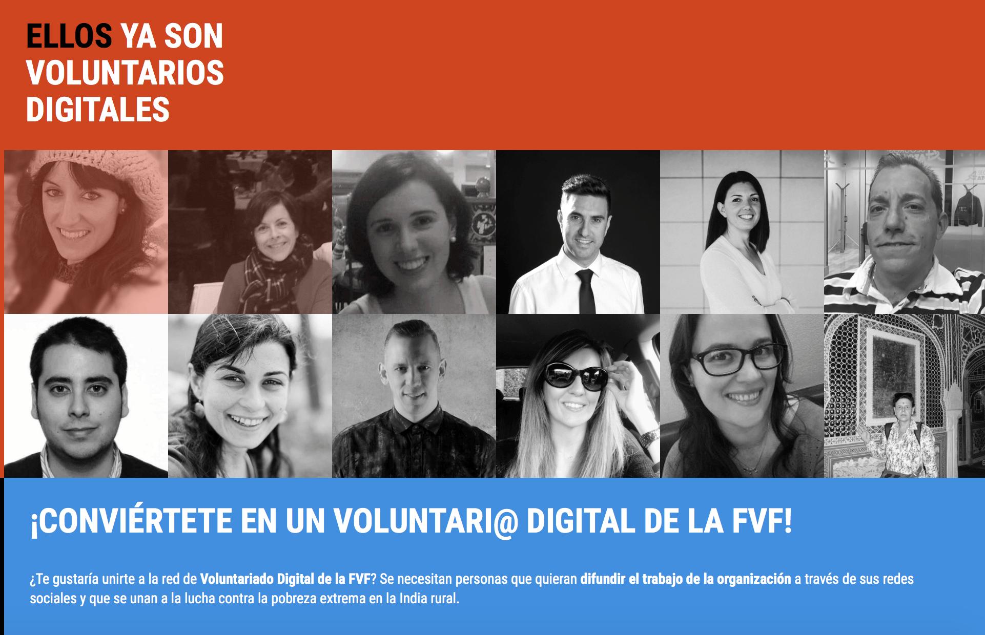 voluntario digital fundación vicente ferrer