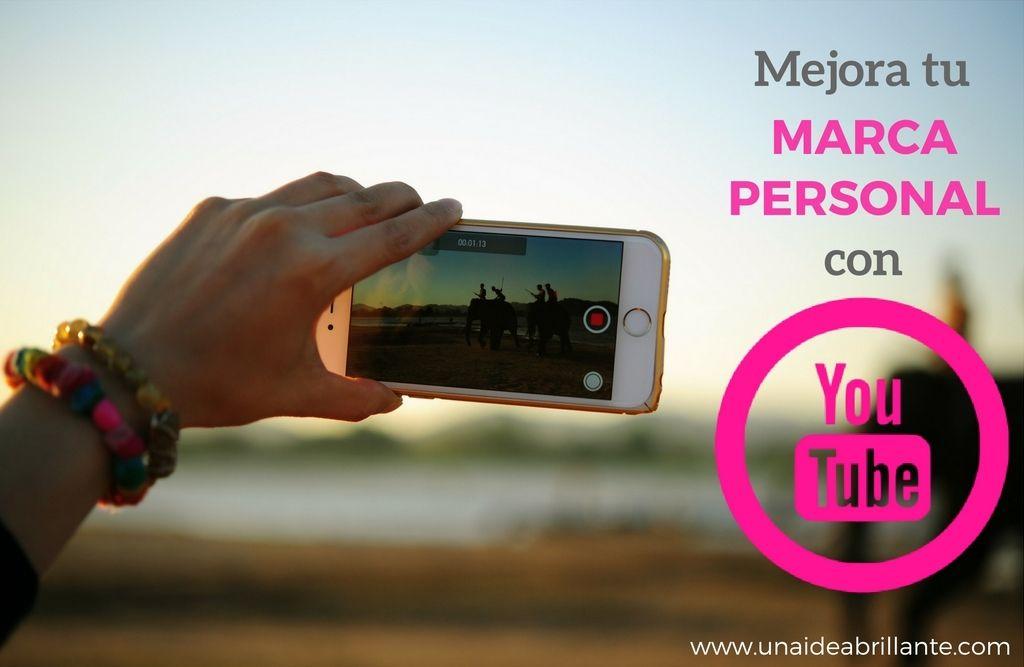mejora tu marca personal con youtube