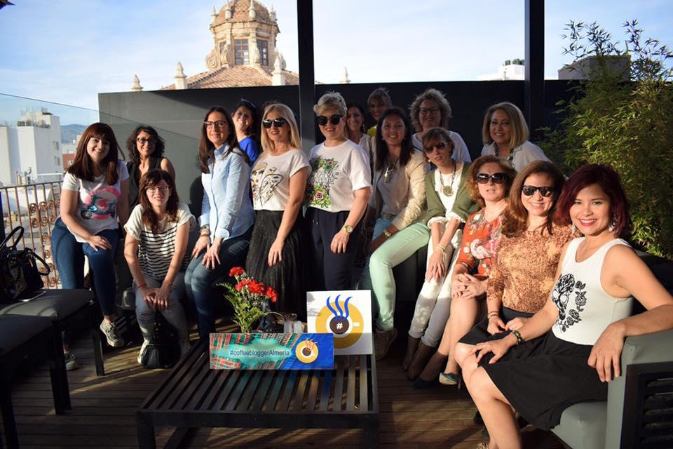 Foto de grupo coffeebloggeralmeria mayo