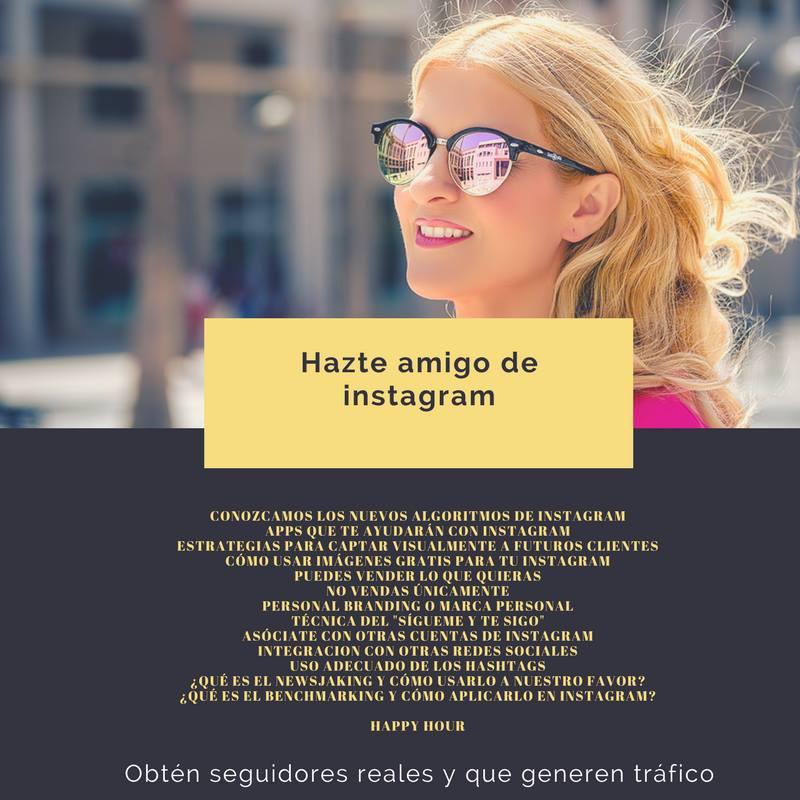 Conchi Samper charla Instagram